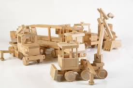 wooden kit model road constuctor wooden toys and planes on