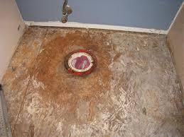 How To Replace Bathroom Subfloor Repairing Bathroom Subfloor Terry Love Plumbing U0026 Remodel Diy