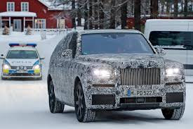 rolls royce concept rolls royce cullinan suv closest look yet by car magazine