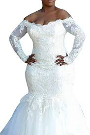 sleeve wedding dresses for plus size dreamdress s mermaid wedding dresses plus size sleeve