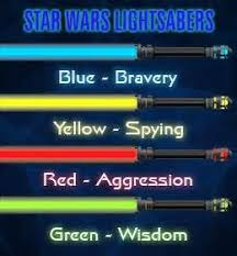 14 light saber colors star wars images light