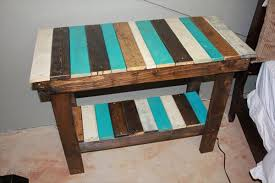 Upcycled Side Table Recycled Pallet Sofa Side Table Pallet Furniture Plans