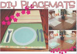 in the meantime how to make laminated placemats