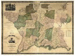 Har Map Map Of New Haven County Ct 1854 Wallmap Reprint