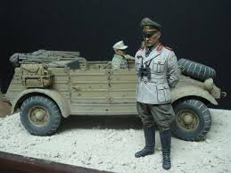 vw kubelwagen kit 1 16 scale rommel with kubelwagen military modelling