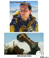 Meme Bear Grylls - bear grylls by rokker meme center