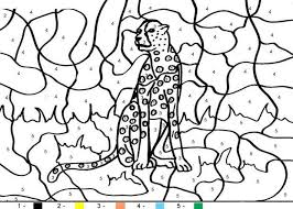 coloring pages of tigers tiger coloring pages hellokids com
