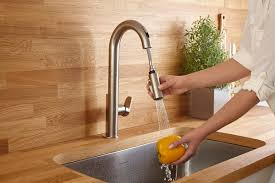 american standard faucets kitchen american standard u0027s beale touchless faucet brings sleek style