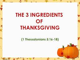 thanks living sermon for thanksgiving