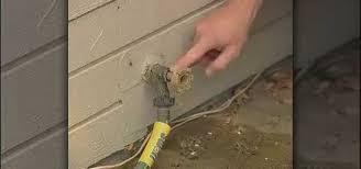 Fix Dripping Outdoor Faucet How To Fix A Leaky Garden Hose Spigot Construction U0026 Repair