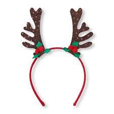 deer headband sequined reindeer antlers headband the children s place