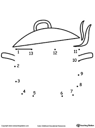 learning to count by connecting the dots 1 through 10 drawing a
