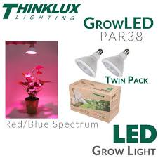 red and blue led grow lights par38 led grow light thinklux lighting earthled com