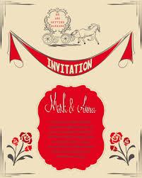 Engagement Invitation Cards Designs Romantic Engagement Invitation Card Free Vector Download 13 501