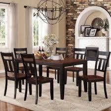 7 piece black dining set foter
