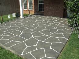 Stained Concrete Patio Images by Awesome Stain Concrete To Look Like Flagstones Outdoors