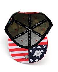 American Flag Flat Bill Hat Nyfashion101 Unisex America Flag Print Usa Flat Bill Adjustable