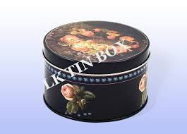 christmas tins wholesale cookie biscuit empty tin box for christmas storage
