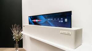 display tv first look lg s rollable display may be the future of tvs news