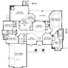 best four bedroom house plans ideas one floor pictures simple home