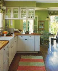 Green Kitchens With White Cabinets by Kiwi Green Kitchen