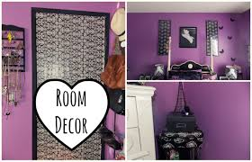 Purple Bedroom Decor by Diy Bedroom Decor Crafts Caprict Com