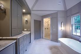 Grey Bathroom Cabinets Design Ideas - Floor to ceiling cabinets for bathroom