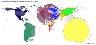 Map Distortion Effective Cartograms Loxodrome Io James Milner U0027s Personal Blog