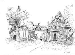 backyard theme park the haunted mansion northside backyard theme park project