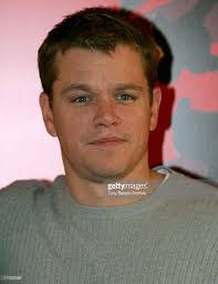matt damon during oceans twelve paris photocall at bristol hotel in picture id110237088