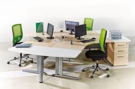mobilier bureau open space call centers et open space ensemble sisma 3 postes compacts 120