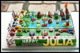 Plants Vs Zombies Cake Decorations Jovi Takahashi Joviaiko On Pinterest
