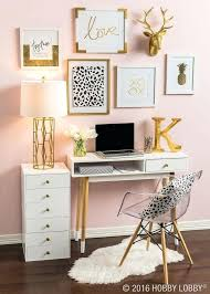 Small Desk Area Small Desk Ideas Gold And Pink Home Decor Featuring Working