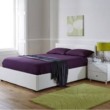 White Ottoman Bed by Seattle Side Opening Storage Ottoman Bed With Mattress From The