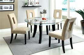 small glass kitchen table round kitchen dining table collection in small glass dining room