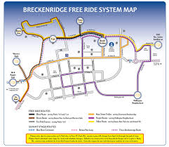 Breckenridge Ski Map System Map Breckenridge Co Transit