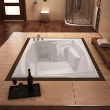 72 x 54 rectangular bathtub