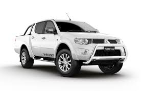car picker white mitsubishi triton