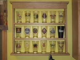 pint glass display cabinet new pint glass display case home brew forums diy alice