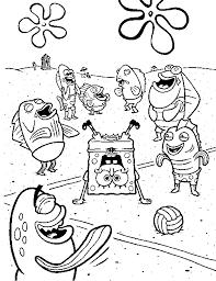 spongebob coloring pages coloring pages print