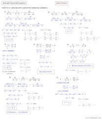 rational equations worksheet factoring quadratic equations worksheet algebra 2 answers jennarocca