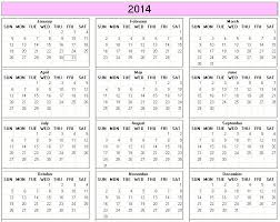 printable calendar large print yearly 2014 printable calendar large color week starts on sunday