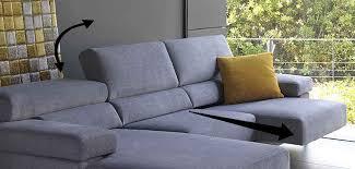 canapé d angle tissu design canapé d angle design en tissu 4 tissus au choix