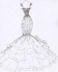 2017 wedding dress sketches u2013 fashion dresses