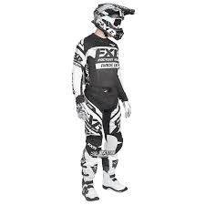 motocross gear package deals 2018 fxr racing revo mx gear kit black white sixstar racing