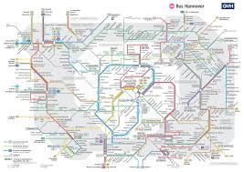 Maps Germany by Hannover Bus Map