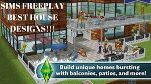 Home Design For Sims Freeplay Sims Freeplay Best House Designs Youtube