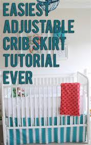Crib Bed Skirt Diy 21 Baby Crib Bed Skirt Pattern Michael Miller Fabrics 039 Citron