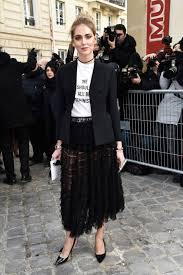 stars are already wearing dior u0027s feminist t shirt