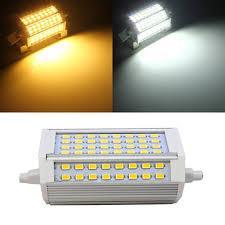 r7s 30w 3000lm 118mm 64 smd5730 warm white white led light bulb 85